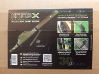 Brand New!!! Kodex Padded Rod Carry Sleeve will accommodate a 12ft rod with reel attatched.