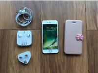 iPhone 6s -32 gb unlocked -3 months old -rose gold