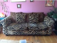 Large very comfy well loved sofa