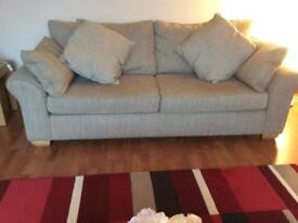 Next 'Garda' Large 3 seater fabric sofa