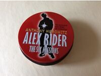 "Alex Rider "" six missions"" cd audio books"