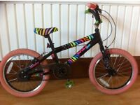 """Kids BMX - fully refurbished 18"""" Avigo Wild One - suitable for 6-8 year olds"""