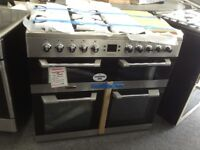 Leisure cuisine master 100cm stainless steel range. £799 new/graded 12 month gtee