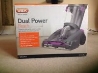 brand new sealed Vax dual power reach carpet cleaning