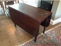 Hard wood table