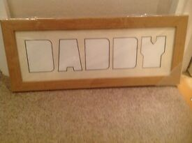 Daddy picture frame