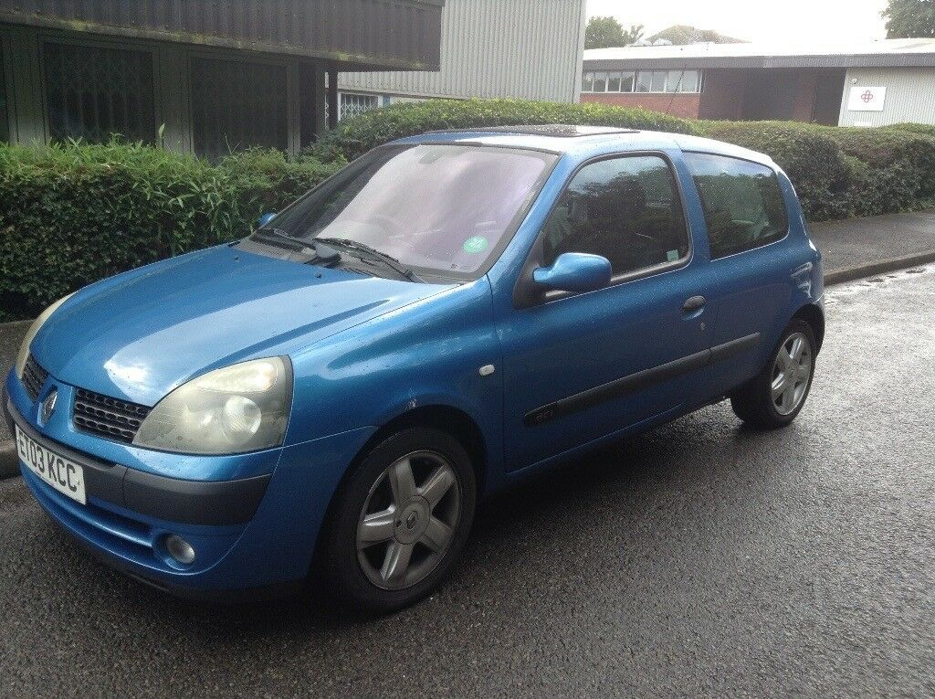 RENAULT CLIO - 1.5 DIESEL - ( low mileage 48k/£20 Road tax ) £875