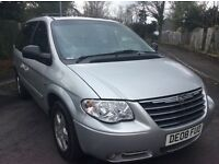 Chrysler voyager 2.8 CRD automatic Executive leather 7 seater fsh 2008