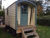 Shepherds Hut Living Van Extra Spare Room Workshop