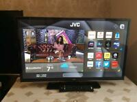 40 INCH JVC SMART WIFI LED TV HD READY FREEVIEW MODEL LT40C790 WITH REMOTE