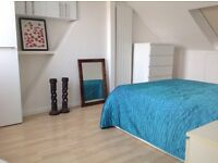 Very large room offered for the month of August