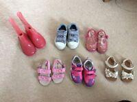 Size 4 & 5 bundle girl shoes