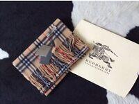 New Burberry scarf
