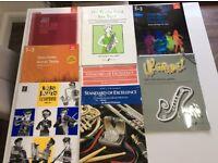 Music books for E-Flat Alto Saxophone