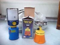 Vintage Primus Picnic Stove and Vintage Butane Gas Lamp