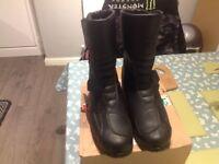 Alpinestars motorcycle boots