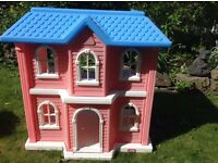 Little Tykes Dolls house. Quite big. With furniture. Can be Used in House or Garden