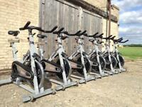 6 x Star Trac Spinner Pro Commercial Spin Bikes (Delivery Available)
