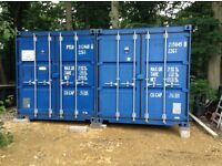 20ft STORAGE CONTAINER TO RENT GOOD AS NEW SECURE LOCATION GATED ENTRANCE £140pcm