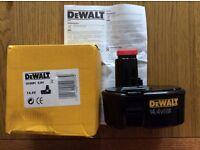 DEWALT 14.4V GENUINE BATTERY DE9091 BRAND NEW IN BOX