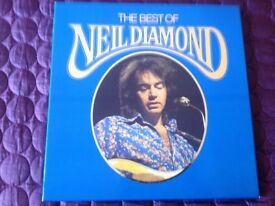 NEIL DIAMOND 6 LPS AND A BOX SET RECORDS