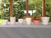 Lovely indoor plant pots - job lot