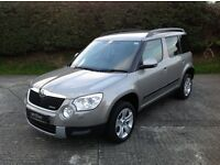 2013 SKODA YETI ELEGANCE 1.6TDI GREENLINE with only 10000 miles