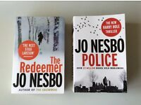 Jo Nesbo Books (The Reedemer/Police)