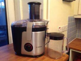 Bosch juicer, makes great juice