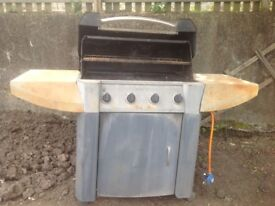 4 burner gas BBQ In need of t l c