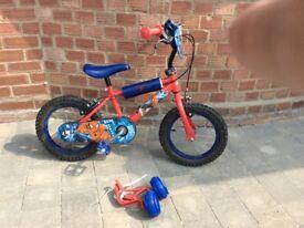 Spider-Man 14inch bike