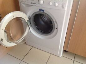 Indesit washing machine as new 12 months old £110 call 07812980350