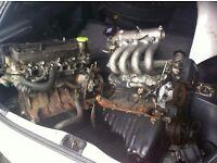 TOYOTA STARLET 1.3 GLANZA TURBO BREAKING - ENGINE - CLUTCH - INTERCOOLER - EXHAUST - DRIVESHAFT