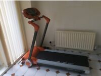 Body Sculpture Motorised Treadmill, One Mounth Old, Like New.