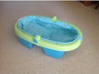 Summer Newborn Baby Bath