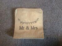 Mr & Mrs Brown Paper Goodiebags