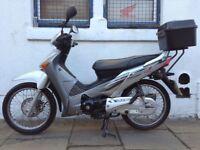 Honda Innova ANF 125A Rare low mileage example! Excellent fuel economy!