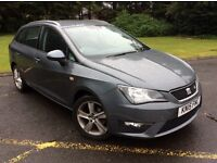 2015 SEAT IBIZA 1.2TFSI FR ESTATE AUTOMATIC, ONLY 31000 MILES FROM NEW