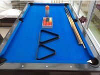 FOR SALE: Pool Table, very good condition and all the equipment included.