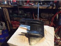 Mariner 55 Hp outboard engine bottom unit for spare parts