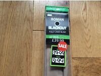 Large Dunelm Blackout blind