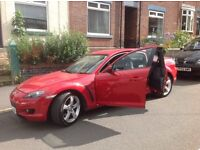 Nice 06 reg Mazda rx8,,,only 40,000 miles