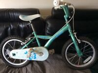 Childs Apollo Bicycle 16 inch wheels vgc