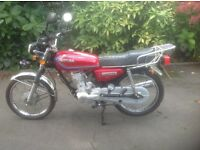 Chituma CTM 125C. Very low mileage. Excellent condition. Learner legal.