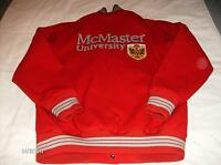 CUSTOM / 1 OF A KIND HAMILTON,ONTARIO McMASTER UNIVERSITY JACKET