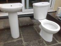 Sink, Toilet & Tap