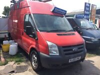 FORD TRANSIT High Roof Van TDCi 115ps (red) 2009