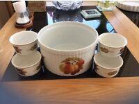 Royal Worcester Flameproof Porcelain