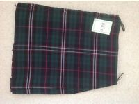 "Scottish National casual Kilt 30"" waist. Brand new with tags"