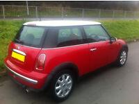 Mini One 2003, 1.6l, MOTD Febuary 2017, 95K, £1100